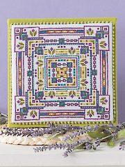 Midnight Irises Cross Stitch Pattern