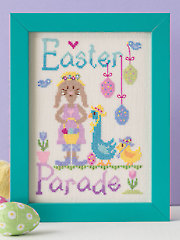 Easter Parade Cross Stitch Pattern