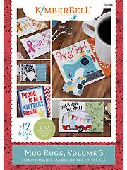 Seasonal Mug Rugs Volume 3 Embroidery CD