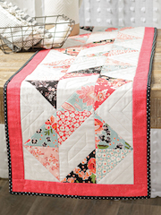EXCLUSIVELY ANNIE'S QUILT DESIGNS: Twisted Table Runner Pattern