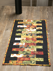 Charming Bricks & Sticks Table Runner Pattern