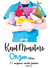Amigurumi Organ Edition Crochet Pattern