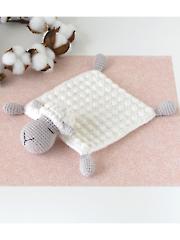 Sheep Safety Blanket Crochet Pattern