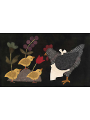 Here a Chick, There a Chick - Mother's Day Wall Hanging Pattern