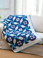 EXCLUSIVELY ANNIE'S QUILT DESIGNS: Sapphire Signet Quilt Pattern