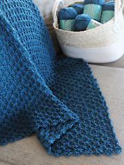 Knit-Look C2C Blanket or Scarf Crochet Pattern