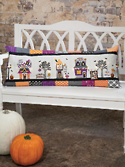 Twilight Boo-levard Bench Pillow Machine Embroidery CD