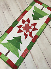 Trim the Tree Table Topper Pattern