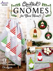 Quilted Gnomes for Your Home