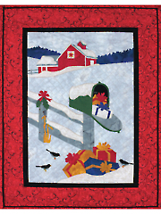 Country Lane Christmas Quilt Pattern