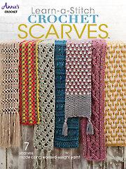 Learn-a-Stitch Crochet Scarves