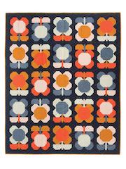 Folk Blooms Quilt Pattern