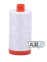 Mako Cotton Thread White 50wt