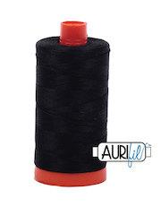 Mako Cotton Thread Black 50wt
