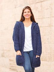 ANNIE'S SIGNATURE DESIGNS: Bonfire Crochet Cardi Pattern
