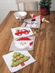 C2C Christmas Cloths Crochet Pattern