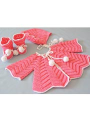Ripple Layette Baby Set