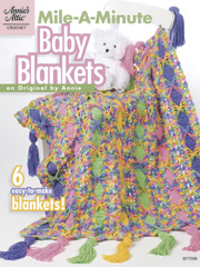 Mile-A-Minute Baby Blankets - Electronic Download