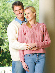 His & Hers Sweaters Crochet Pattern