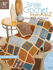 Single Crochet from A to Z Sampler Afghan - Electronic Download A877537