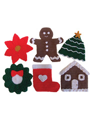 Christmas Pot Holders Pattern Pack - Electronic Download