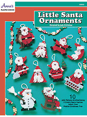 Little Santa Ornaments - Electronic Download