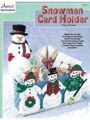 Snowmen Card Holder Y203050