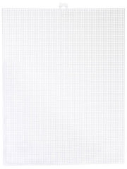 7-Count Plastic Canvas - White