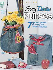 Easy Denim Purses - Electronic Download