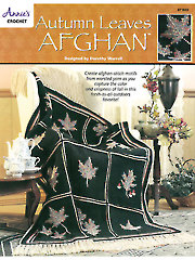Autumn Leaves Afghan - Electronic Download