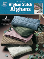 Afghan Stitch Afghans Pattern - Electronic Download