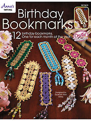 Cro-Tatting Birthday Bookmarks