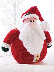 Chubby Santa Knit Pattern