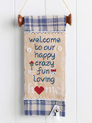 Welcome Friends Banner