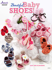 Beautiful Baby Shoes Crochet Pattern Book