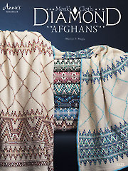 Monk's Cloth Diamond Afghans