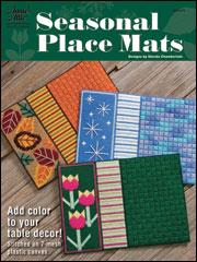 Seasonal Place Mats Plastic Canvas Pattern