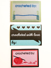 Crochet Garment Labels