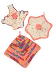 Vintage Pot Holders Kit
