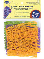 "Boye(R) Assorted 5"" 7"" & 10"" Yarn Sleeves 10/Pkg."