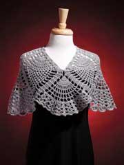 Pineapple Cowl Wrap Crochet Pattern