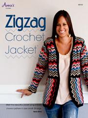 Zigzag Crochet Jacket - Electronic Download A885152