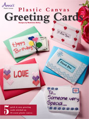 Plastic Canvas Greeting Cards - Electronic Download