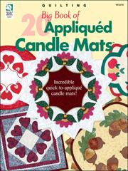 Big Book of Appliqued Candle Mats
