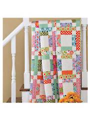 Grandma Mary's Five-Patch Quilt Pattern - Electronic Download