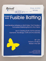 Double-Sided Fusible Batting