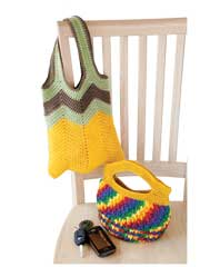 Colorful Purses to Crochet - Electronic Download