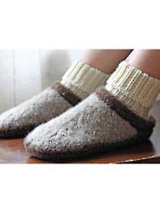 Baby Clog-n-Soc Knit Pattern