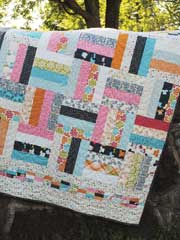 On The Fence Quilt Pattern - Electronic Download