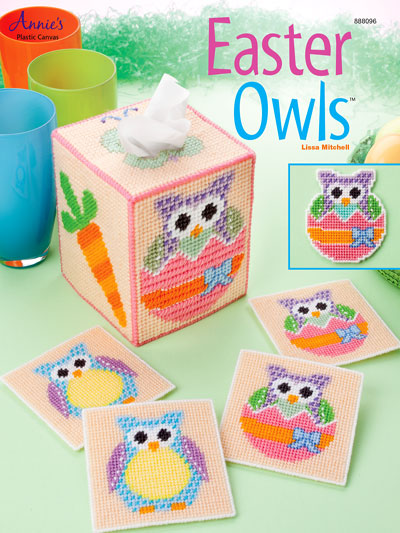 Easter Owls Plastic Canvas